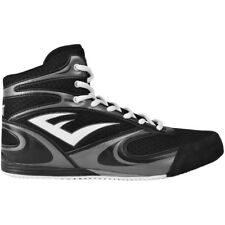 Everlast Contender Low Top Boxing Shoes - Black - boots mma training mens lo