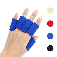 10pcs Elastic Stretch Cotton Basketball Finger Guard Support Sleeves Protector