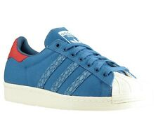 NEW adidas Originals Superstar 80s Animal Oddit Shoes Trainers Blue