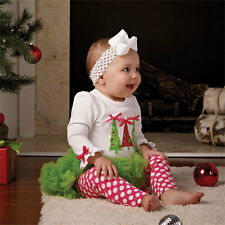 Mud Pie Baby CHRISTMAS TRIPLE TREE 2 PIECE SET Holiday Collection New