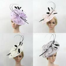 Party Headband Hairband Hat Feather Fascinator Prom Wedding Bride Ladies Day