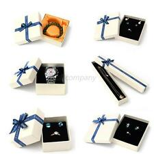 Present Gift Boxes Cases For Necklace Ring Earring Jewelry Watch Box Lots New