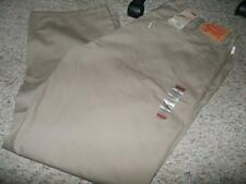 NEW MENS 559 LEVIS RELAXED STRAIGHT FIT BIG & TALL SIZE 46 X 32 KHAKI PANTS