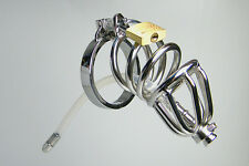 New High quality Male Chastity Device Lock Stainless Steel Cock Cage toy 927