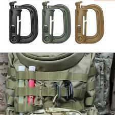 EDC Keychain Carabiner Molle Tactical Backpack Shackle Snap D-Ring Clip ES US