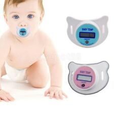 Child Infant Baby LCD Pacifier Thermometer Digital Oral Thermometer Temperature
