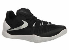 NEW MENS NIKE HYPERCHASE BASKETBALL SHOES TRAINERS BLACK / WHITE / METALLIC SILV