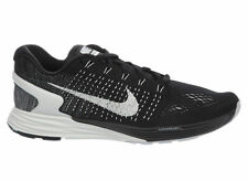 NEW MENS NIKE LUNARGLIDE 7 RUNNING SHOES TRAINERS BLACK / ANTHRACITE / COOL GREY