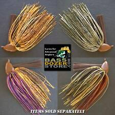 FINESSE FLIPPING weedless bass fishing jigs