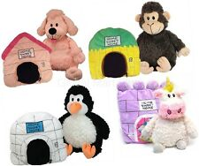 Stuffed Animal Reversible to Pillow Home Sweet Home Play Pillow Happy Nappers