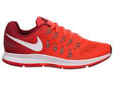 NEW WOMENS NIKE AIR ZOOM PEGASUS 33 RUNNING SHOES TRAINERS BRIGHT CRIMSON / WHI
