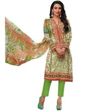 Ready To Wear Ethnic Karachi Printed Cotton Salwar Kameez Suit -Moufiz-034