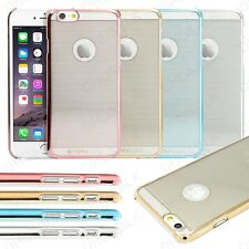 """TPU Rubber Ultra Thin Bumper Case Frame Cover Clear For Apple iPhone 6 6S 4.7"""""""