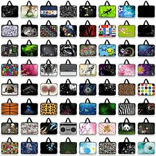 """13"""" 13.3"""" Colorful Neoprene Netbook Case Laptop Sleeve Bag Cover With Handle New"""