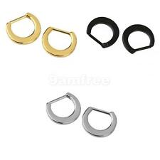 2Pcs Tribal Septum Piercing Indian Style Nose Ring Hinged Clicker Ladies Jewelry