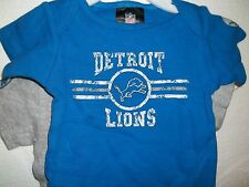 New/tags NFL Detroit Lions baby body suit 1zie short sleeves