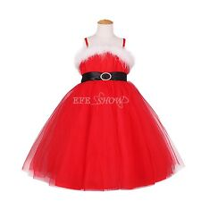 Girls Princess Dress Christmas Costumes Kid Party Clothes Fancy Xmas Gift Dress