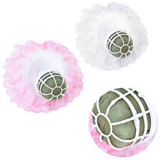 Bouquet Handle Holder + White Lace Collar for Bridal Floral Wedding Flower CAHu