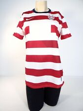 Nike Dri Fit US Soccer Team Red & White  Short Sleeve Jersey Woman NWT