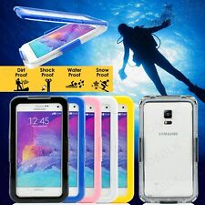 For Galaxy s5 Waterproof Note 4 Premium Durable Shockproof Dirt Proof Case Cover