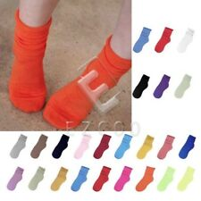Women's Fashion Natural Curling Socks Fluorescent Cotton Candy Colors