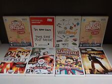 Job Lot Of Nintendo WII Games - 8 Games Collection! (ID:36505)
