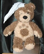 Little Charley Bear 14 Inch Talking Soft / Plush Toy Wearing Night Hat By Vivid