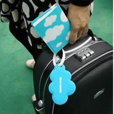 3PCS/Set Travel Passport Holder Luggage Tag Cute Love Cloud Design For All Pop