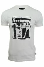 Mens T-Shirt by FCUK/French Connection Short Sleeved