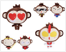 "20cm 8"" Small Size Cute Plush Doll Toy Stuffed Animal Monkey Gifts Hangings"