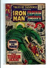 Vintage Marvel 1967 Tales of Suspense IRON MAN & CAPTAIN AMERICA #93 Comic -