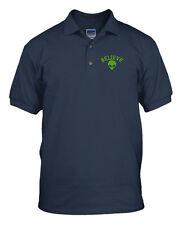 Believe Alien Embroidery Embroidered Golf Polo Shirt