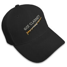 GOT CLARINET? MUSIC Embroidery Embroidered Adjustable Hat Baseball Cap