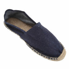 B&C Denim Mens Slip-On Espadrille/Loafer Casual Summer Beach Shoes US Sizes 7-11