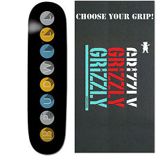 PLAN B Skateboard Deck TOREY PUDWILL SUBWAY 8 with GRIZZLY GRIPTAPE