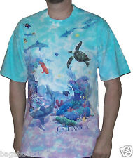 Liquid Blue Men's Oceanica Living Ocean T-shirt  (GEN5)