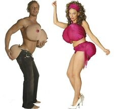 Extreme TNA - Foam Padded Boobs & Butt - Adult Humor Costume Accessory fnt