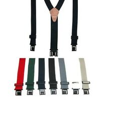Perry Hook-On Belt Suspenders - The Original All Colors, Regular and Big & Tall