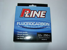 P LINE FLUOROCARBON FISHING line 250yds ALL SIZES