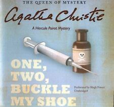 One, Two, Buckle My Shoe: A Hercule Poirot Mystery by Agatha Christie Compact Di