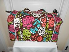 VERA BRADLEY NEW WITH TAG LOLA LARGE DUFFEL FREE SHIPPING