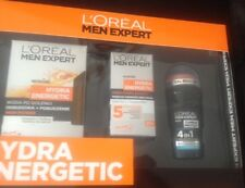 LOreal Men Expert Gift Set - Hydra Energetic (Aftershave, Moisturiser, Roll On)