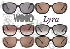 WeWood Cotton Eyewear Sunglasses Lyra All Natural Fiber Wood Look UV Protection