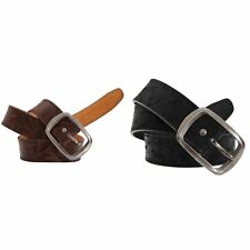 Forest Belts Mens 1.50 Inch Distressed Leather Belt