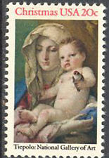 SC#2026 - 20c Madonna & Child Single MNH