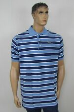 Lacoste mens big and tall polo shirts short sleeve stripe sizes LT XLT NEW