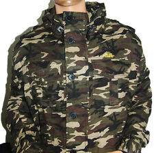 Rich Yung Camouflage Long Sleeve Zip-Up Hooded Jacket -Hunting- Nice Quality NWT