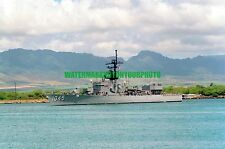 USN Frigate USS DAVIDSON FF-1045 Color Photo Navy Military FF 1045