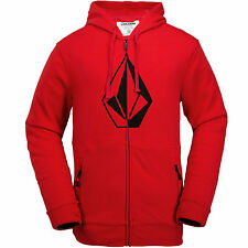 Volcom JLA Stone Zip Fleece men's Hooded Jacket Zip jacket Hoody Hoodie Pullover