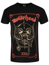 Motorhead Anniversary Mens Black T-Shirt - NEW & OFFICIAL